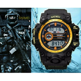 Relógio Original Modelo S Shock - Digital Snimei Prova Dágua