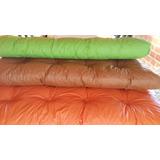 Colchon Futon De 3 Y De 2 Cuerpos Eco Cuero Color A Eleccion