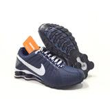 Championes Nike ( Azul,blanco) Shox Junior 2017 Orig
