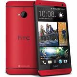 Htc One M7 Color Rojo 32gb/2gb Ram 100% 4g Lte - Traido Eeuu