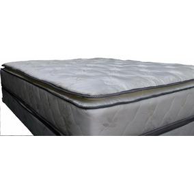 Colchon Super Reforzado Pillow Desmontable 2 Y 1/2 Hotsale
