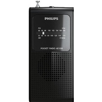Rádio Philips Portátil A Pilha Am/fm Ae-1500 Jogo