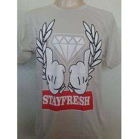 Camisa Camiseta Blusa Diamond Swag Hip Hop Rap
