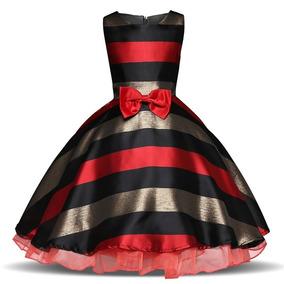 Vestido De Niñas Fiestas Invierno Elegante Tallas 3 - 10