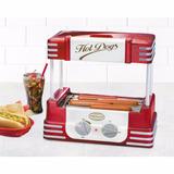 Máquina De Cachorro Quente Roller Hot Dog Frete Grátis