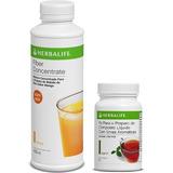 Fiber Concentrate + Chá Termogênico Herbalife Original 50g