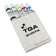 Tinta Guache Tga 5 Cores Com 25ml
