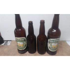 Antiguas Botellas Cervezas Pastorizadas