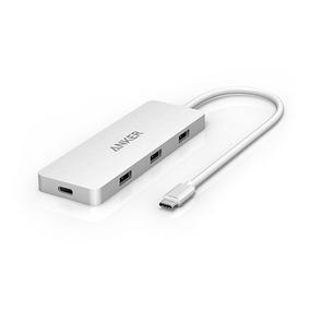 Adaptador Usb C Macbook Anker 3 Puertos Usb / Ethernet / Usb