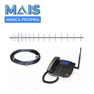 Kit Completo Telefone Rural Celular Desbloqueado Re502