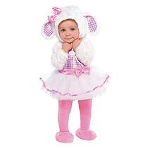 Disfraz Bebe Borreguita Niña Halloween Borrega Lambie
