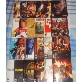 Variedad De Manuales De Juegos De Ps3