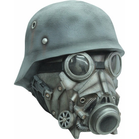 Morris Costumes Mascara De Latex Soldado Guerra Química
