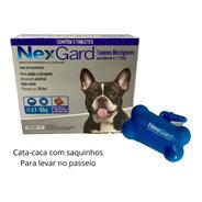 Antipulgas E Carrapatos Nexgard 28,3mg Para Cães De 4,1 A 10