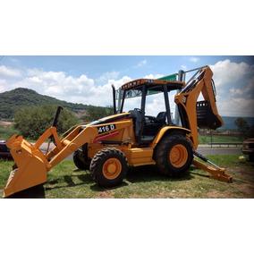 Retroexcavadora Cat. 2005 4x4 416d