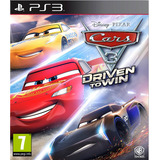 Cars 3 Driven To Win Ps3 Elegi Reputacion Oferta Ya