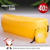 Colchon Sillon Inflable Lazybag Lazy Bag Puf Tumbona Goodbag