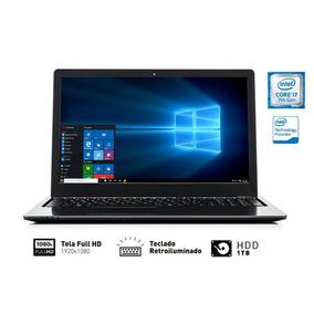 Notebook Sony Vaio I7 1tb 8gb 15.6 Teclado Retroiluminado