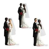 Enfeite Noivos Casal Para Bolo Festa De Casamento 3 Modelos