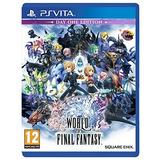 World Of Final Fantasy Edición Del Día Uno (playstation Vit