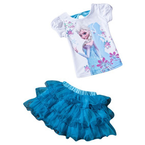 Vestido Importad Fiest Cumpleaño Nen Niñ Frozen Ytb Ropa Gap