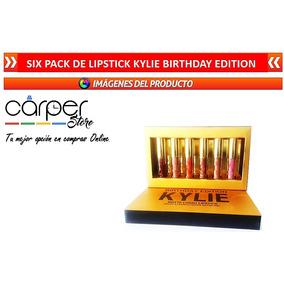 Labial Six Pack De Lipstick Kylie Birthday Edition Matte