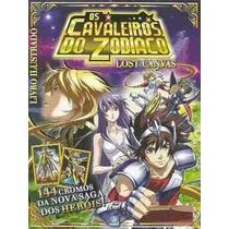 Cavaleiros Zodiaco Lost Canvas - Album Figurinhas Completo