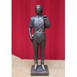 Escultura Companheiro Maçonaria - Estátua Em Gesso