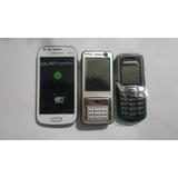 Lote De Celular Samsung E Nokia Novos E Com Garantia