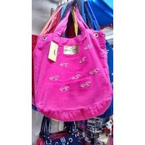 Bolsa Feminina Hollister Modelo Sacola Pink