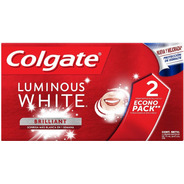 Pasta Dental Colgate Luminous White 2 Pack De 75 Ml