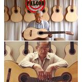 Guitarra Abraham Falcon Acustica Peruana Clasica D-carlo