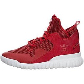 Zapatos Hombre adidas adidas Tubular X Red/white Lea 515