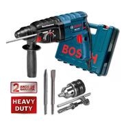 Martelete Perfurador Rompedor 820w Gbh 2-24d Bosch + Kit 4pc
