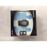 Relógio Monitor Cardíaco Masculino Fr70 Garmin Preto Azul