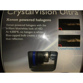 Focos Philips Crystal Vision 4000ºk Luz Blanca Tipo Xenon