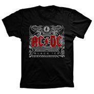 Camiseta Ac/dc Vários Tams. Plus Size G1 G2 G3 G4