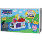 Barco Peppa Pig / Mini Ship Transforms / Mamá & Papá Pig