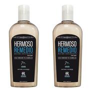2 Shampoo Crecimiento Anticaída Caspa Reparador Hombre 7en1