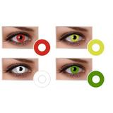 Lentes De Contacto Para Hallowen Disfraz Color Ojos Cosplay