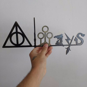 Placas Decorativas Harry Potter (kit Com 3)