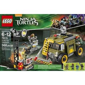 Lego Tartaruga Ninja Turtle Van Takedown 79115 - Original