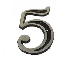 Número Residencial Em Aluminio Colonial Minimo 3 Peças