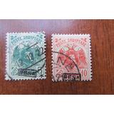 Albania 1921 Reimpr Besa Valor Catalogó (scot 136/7) 22 Usd