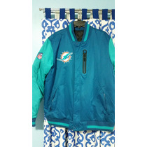 Chamarra Nike Miami Dolphins Doble Vista Delfines Nfl Onfiel