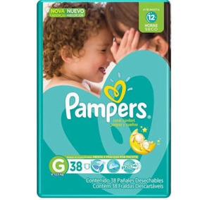 Fralda Pampers Total Confort G 38 Tiras