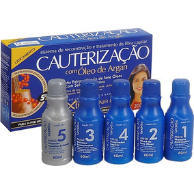 Kit Cauterização Hair Fly Com Oleo Argan