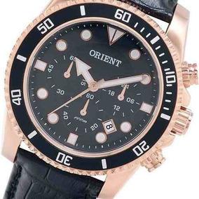 Relógio Pulseira Couro Orient - Relógios no Mercado Livre Brasil a94c35ebd8