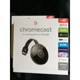 Nuevo Google Chromecast 2 Apple Samsung Hdmi Smarttv Sellado