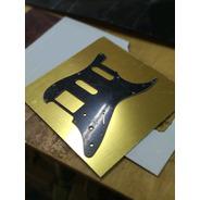Placa Para Fabricar Pickguard Dorada